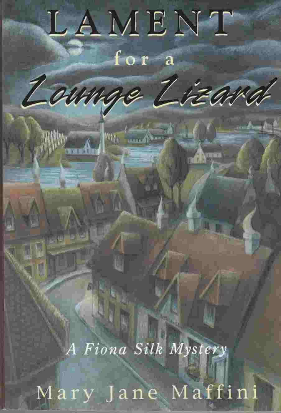 Image for Lament for a Lounge Lizard A Fiona Silk Mystery