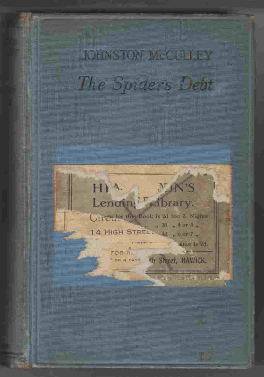 Image for The Spider's Debt:  A Detective Story