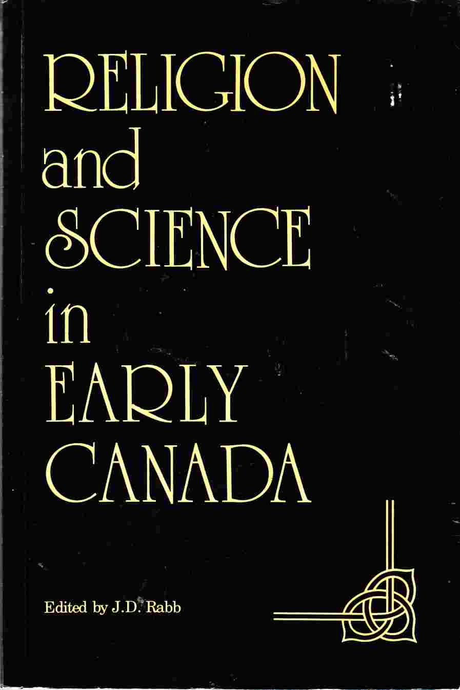 Image for Religion and Science in Early Canada