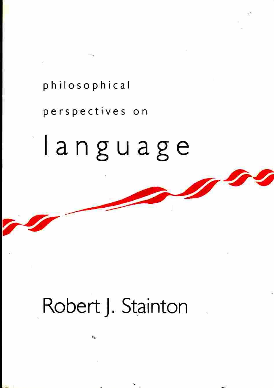 Image for Philosophical Perspectives on Language