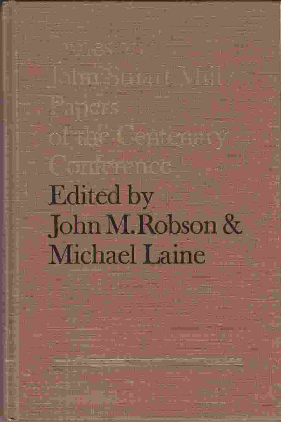 Image for James and John Stuart Mill:  Papers of the Centenary Conference