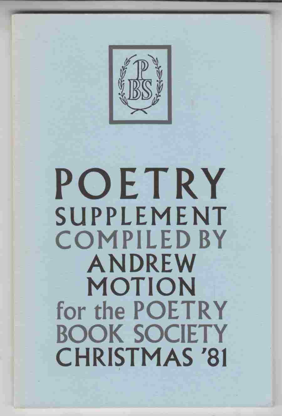 Image for Poetry Supplement Christmas '81