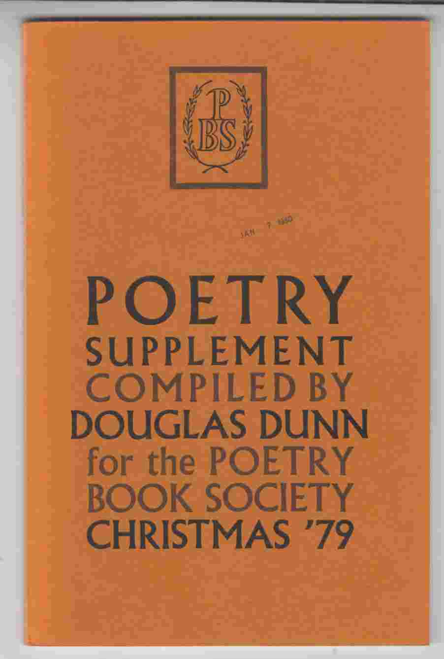 Image for Poetry Supplement Christmas '79