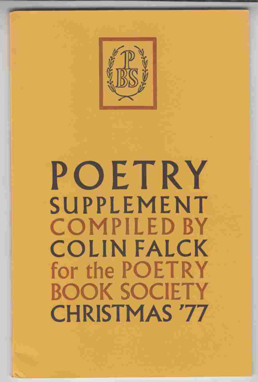 Image for Poetry Supplement Christmas '77