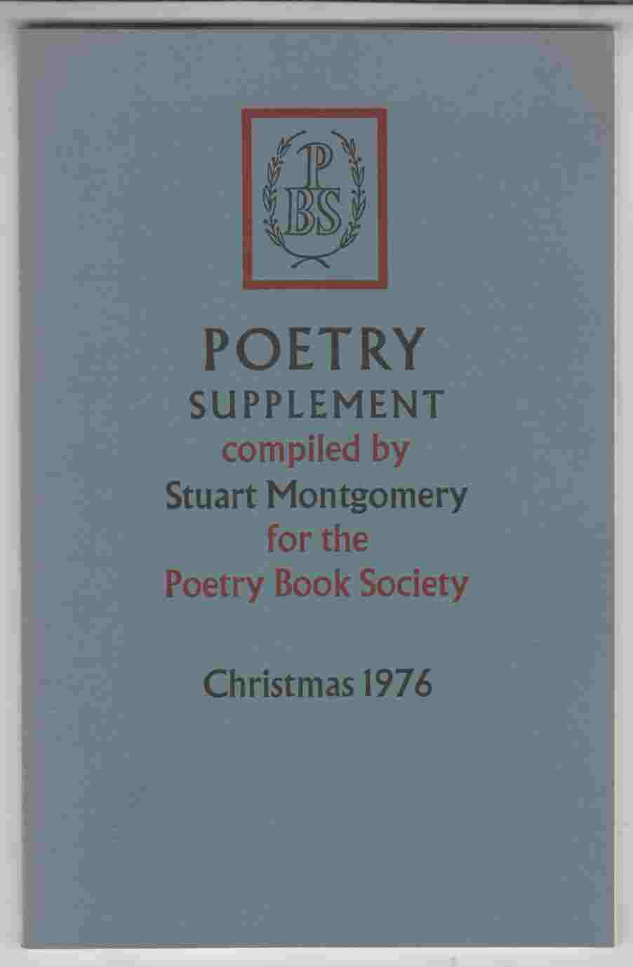 Image for Poetry Supplement Christmas 1976