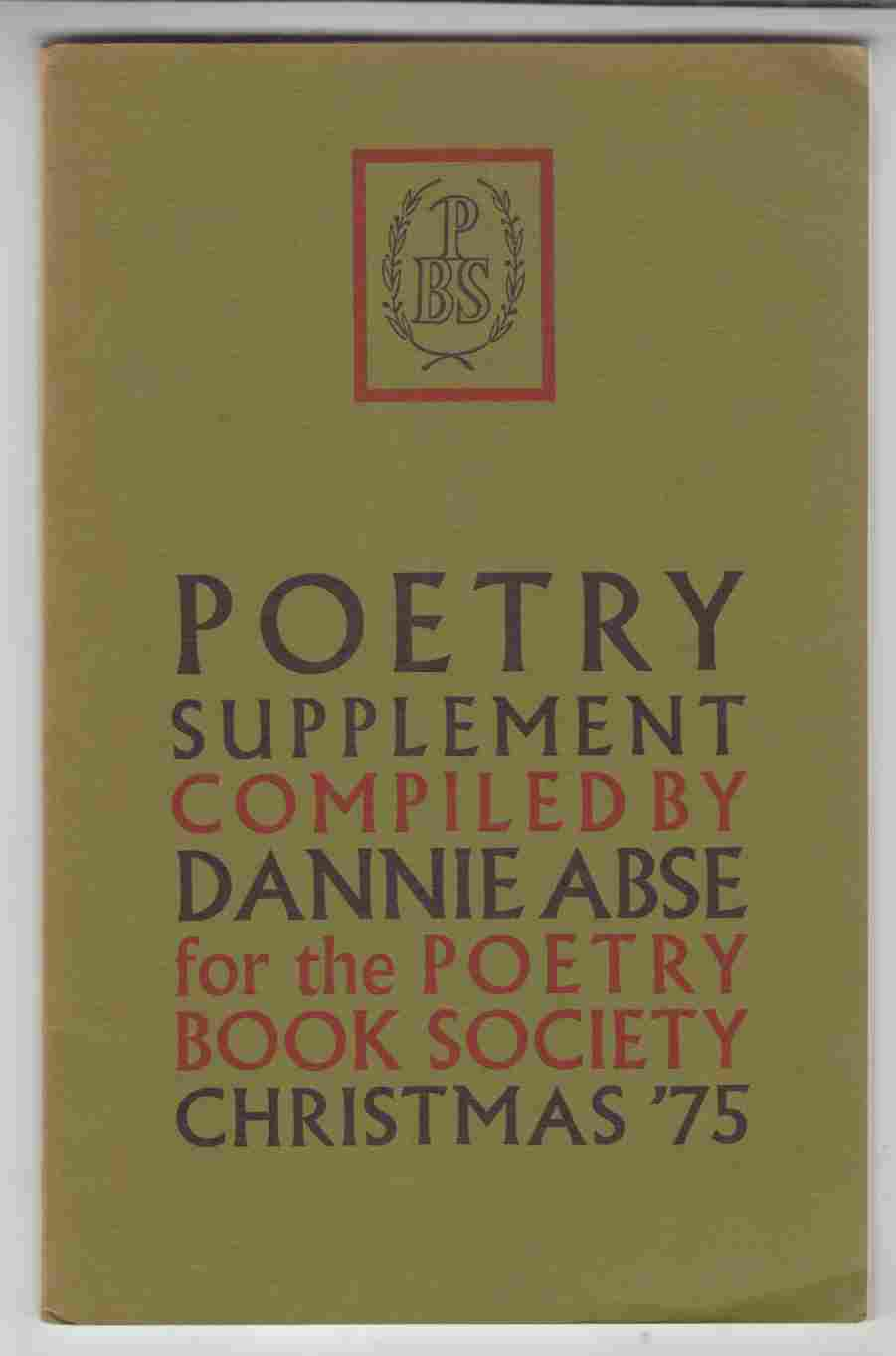 Image for Poetry Supplement Christmas '75
