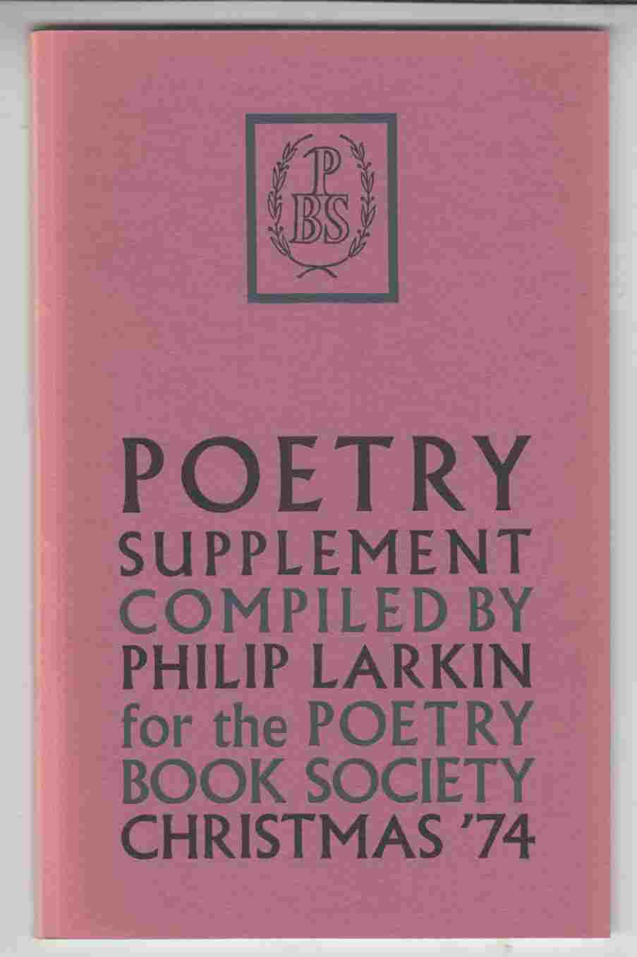 Image for Poetry Supplement Christmas '74