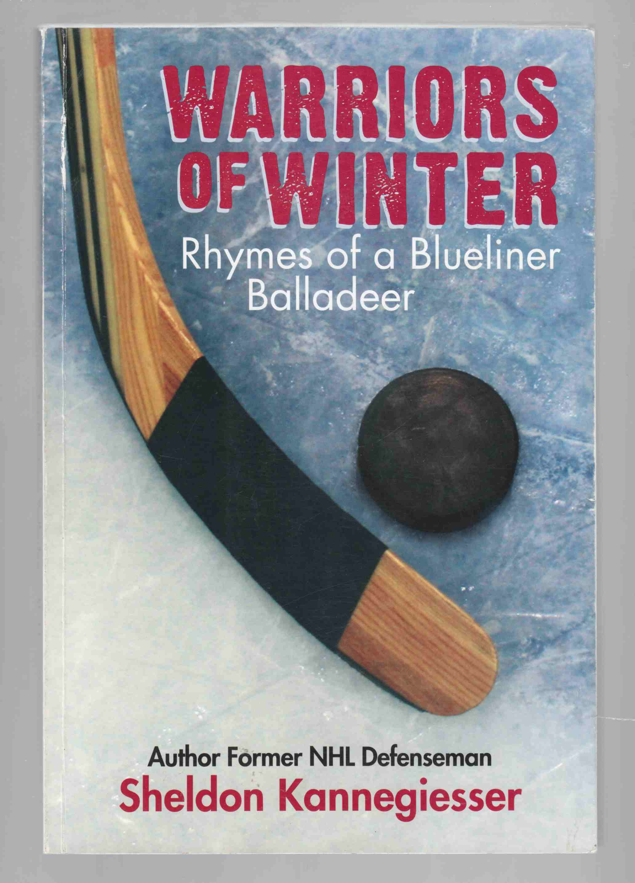 Image for Warriors of Winter Rhymes of a Blueliner Balladeer