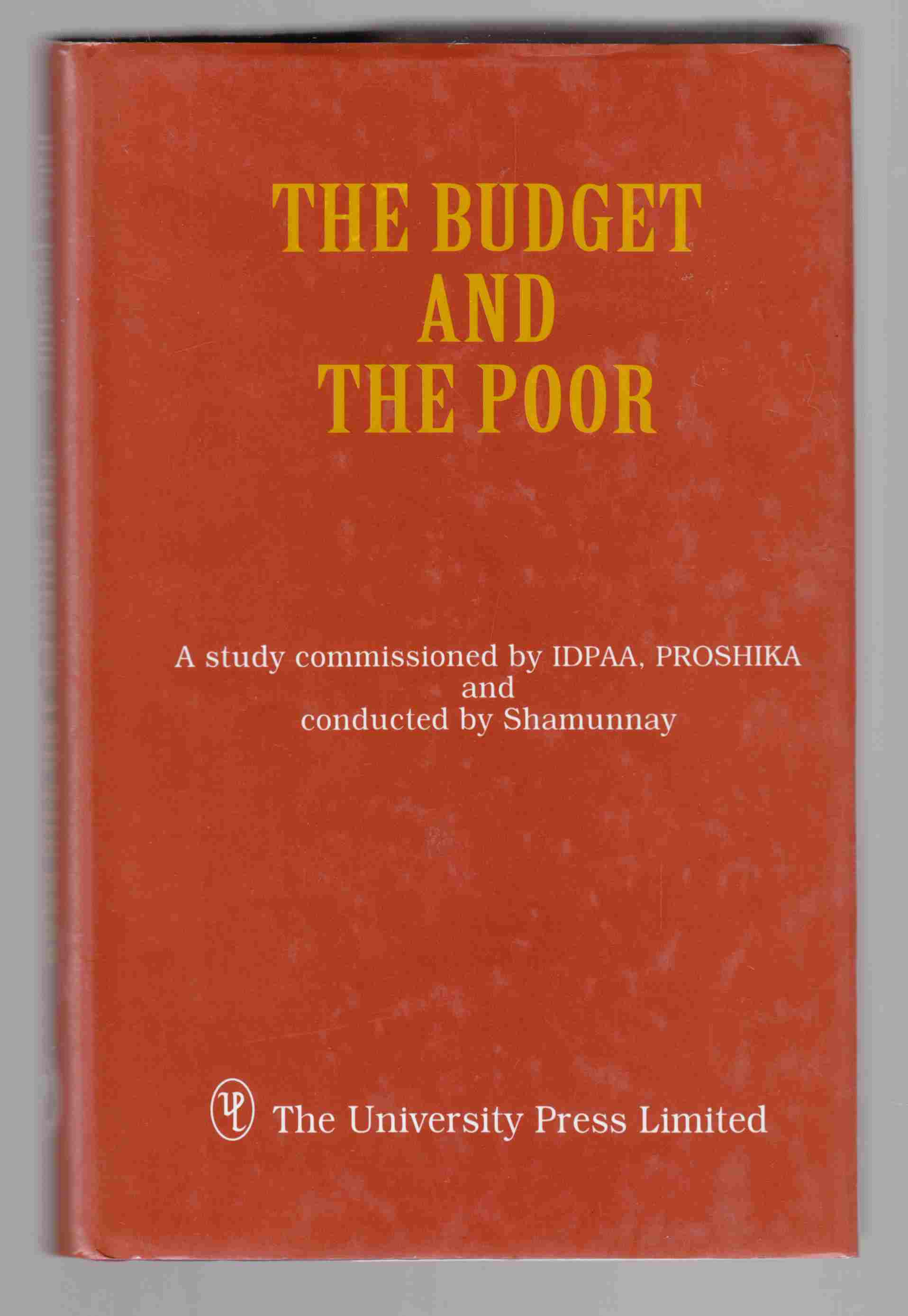 Image for The Budget and the Poor
