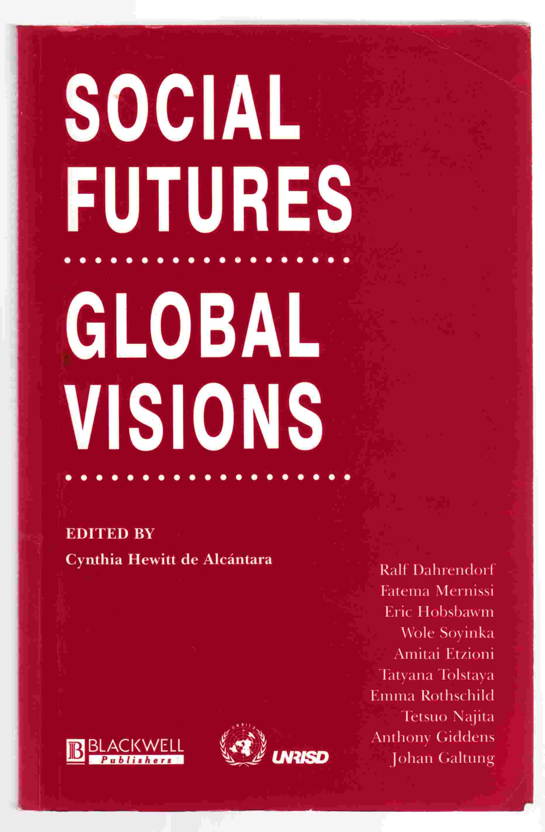Image for Social Futures, Global Visions