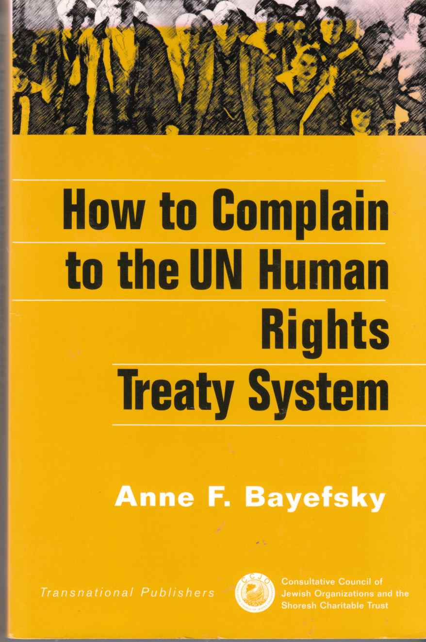 Image for How to Complain to the UN Human Rights Treaty System