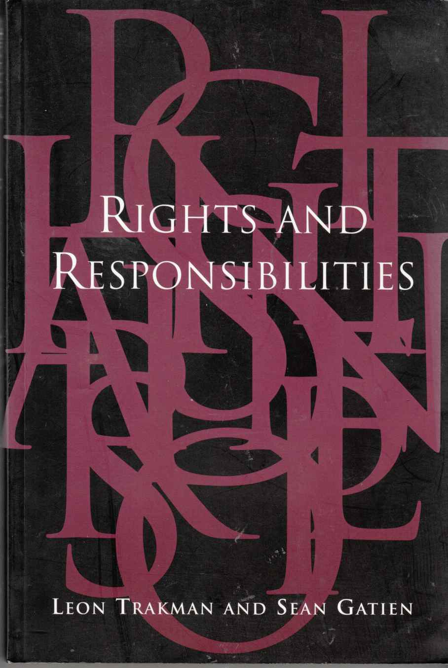 Image for Rights and Responsibilities