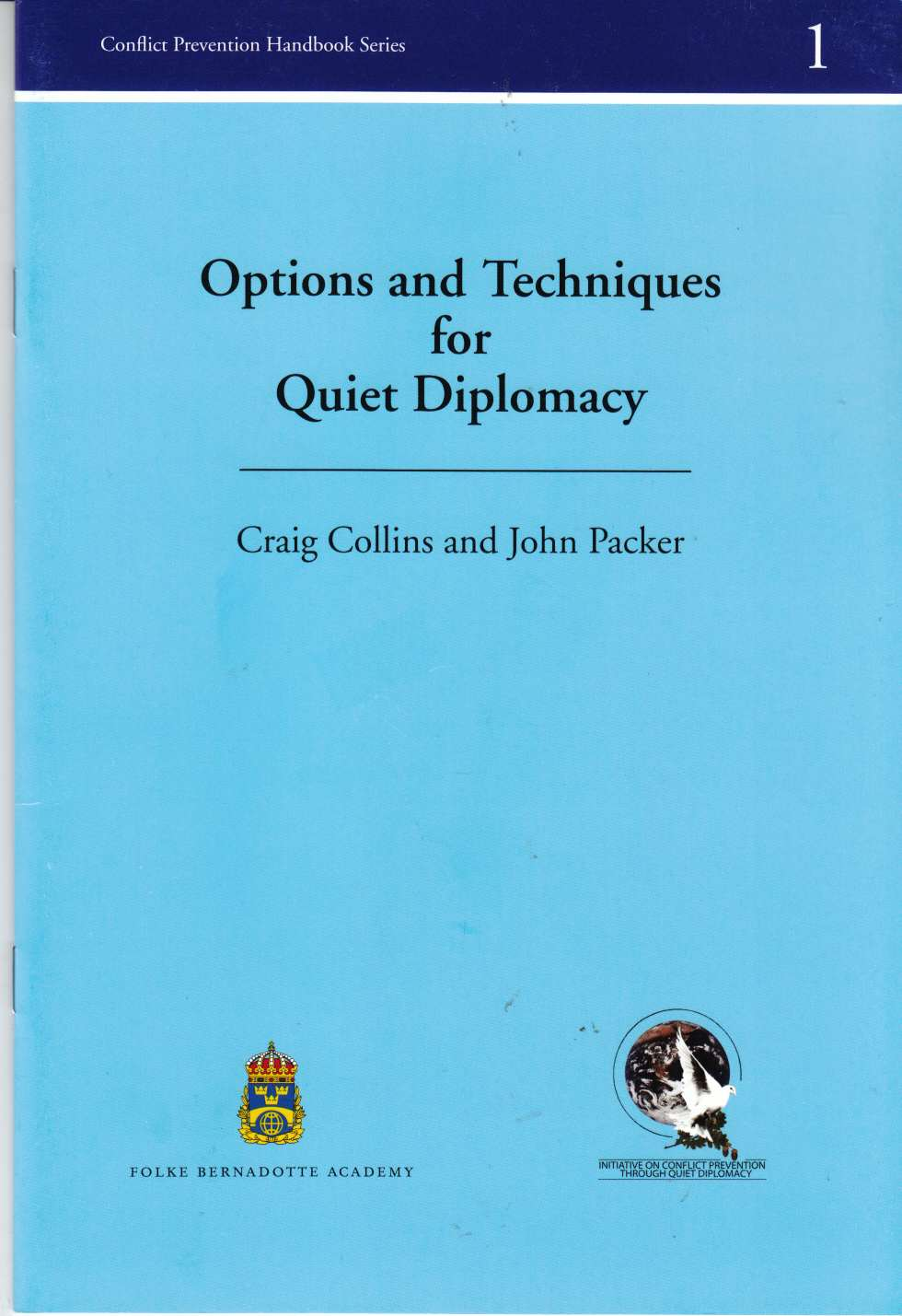 Image for Option and Techniques for Quiet Diplomacy
