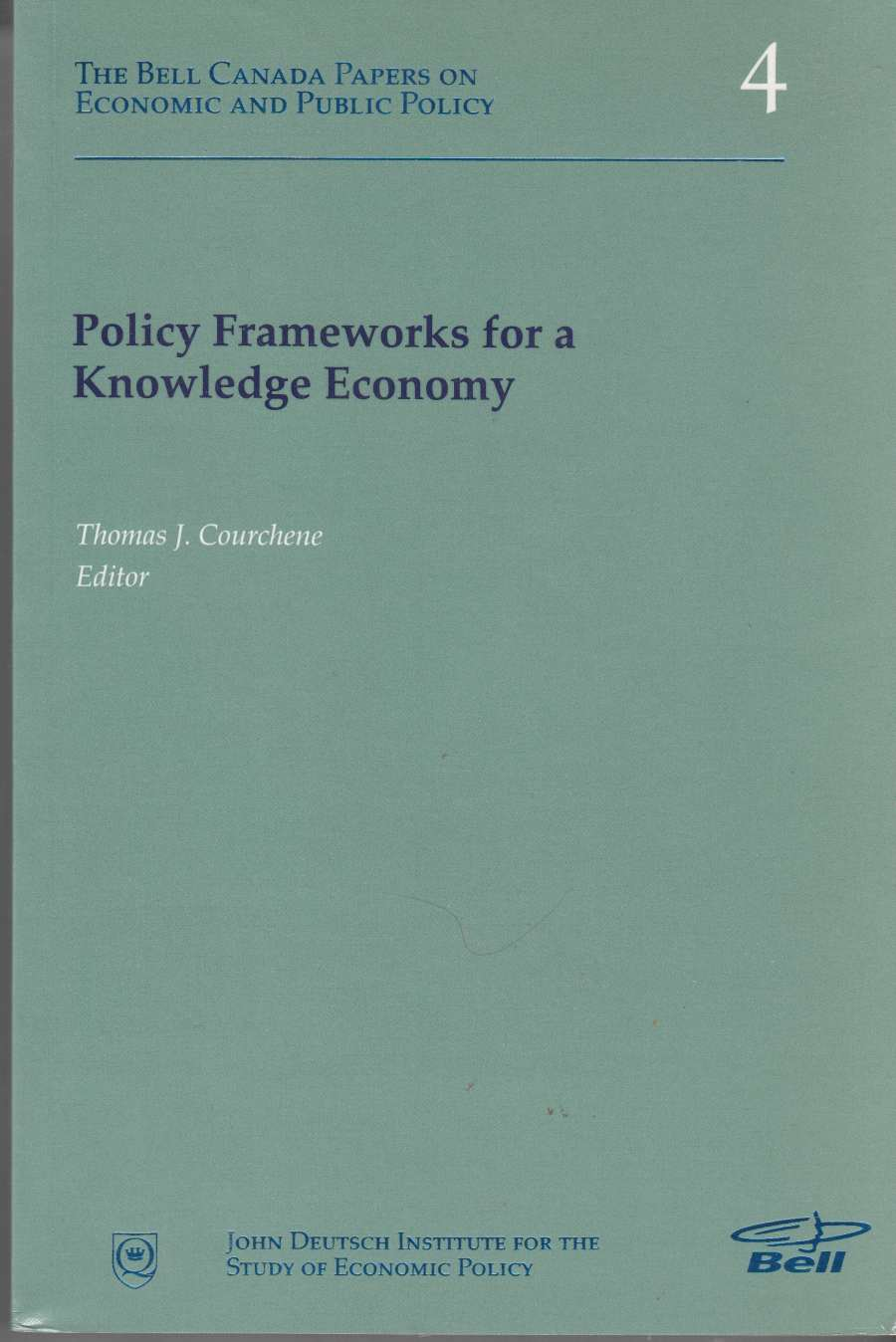 Image for Policy Frameworks for a Knowledge Economy