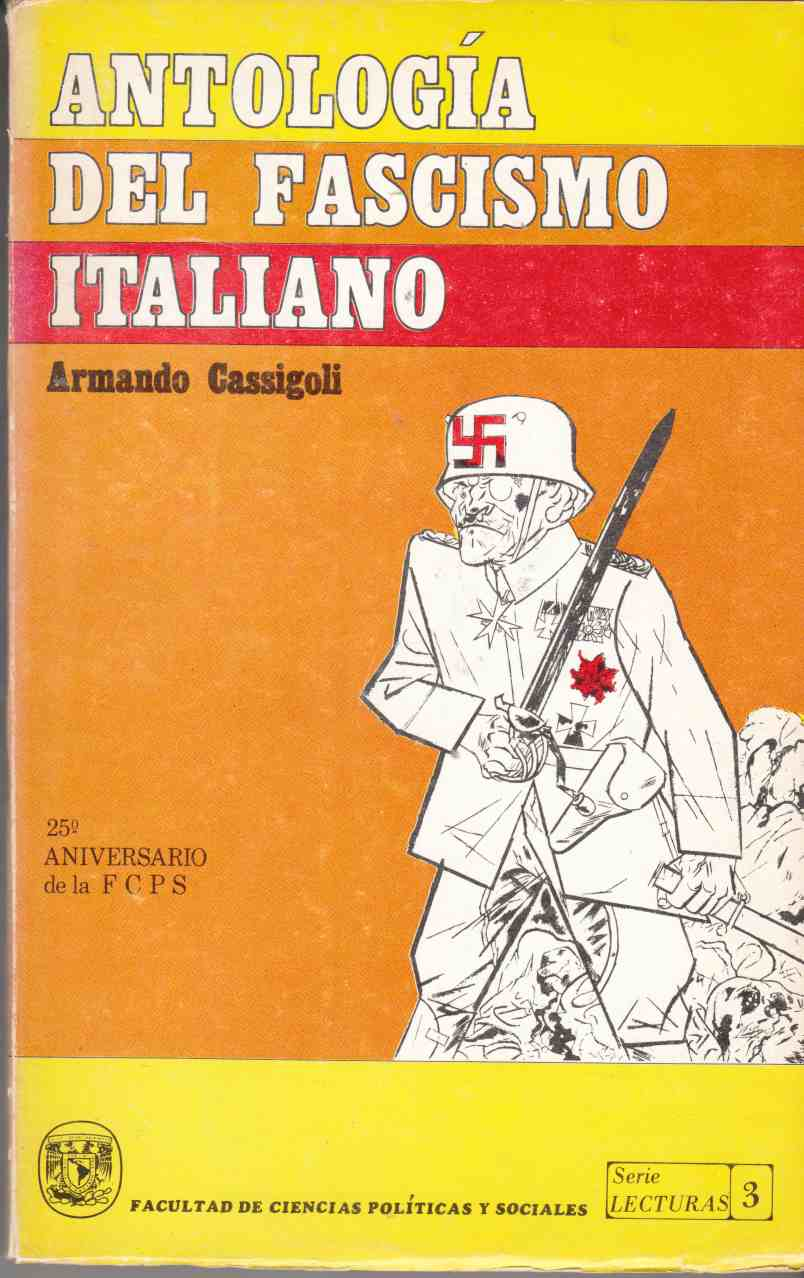 Image for Antologia Del Fascismo Italiano