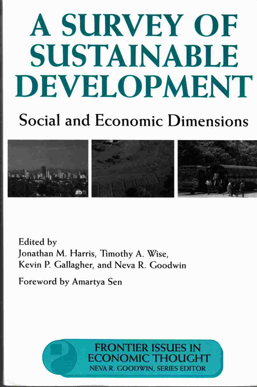 Image for A Survey of Sustainable Development:  Social and Economic Dimensions