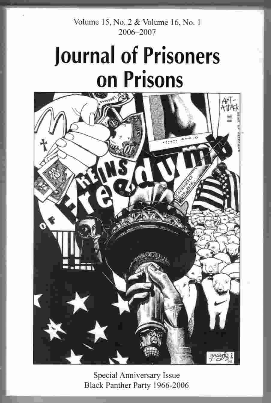 Image for Journal of Prisoners on Prisons Volume 15, No. 2 & Volume 16, No. 1 Special Black Panther Political Prisoners Issue