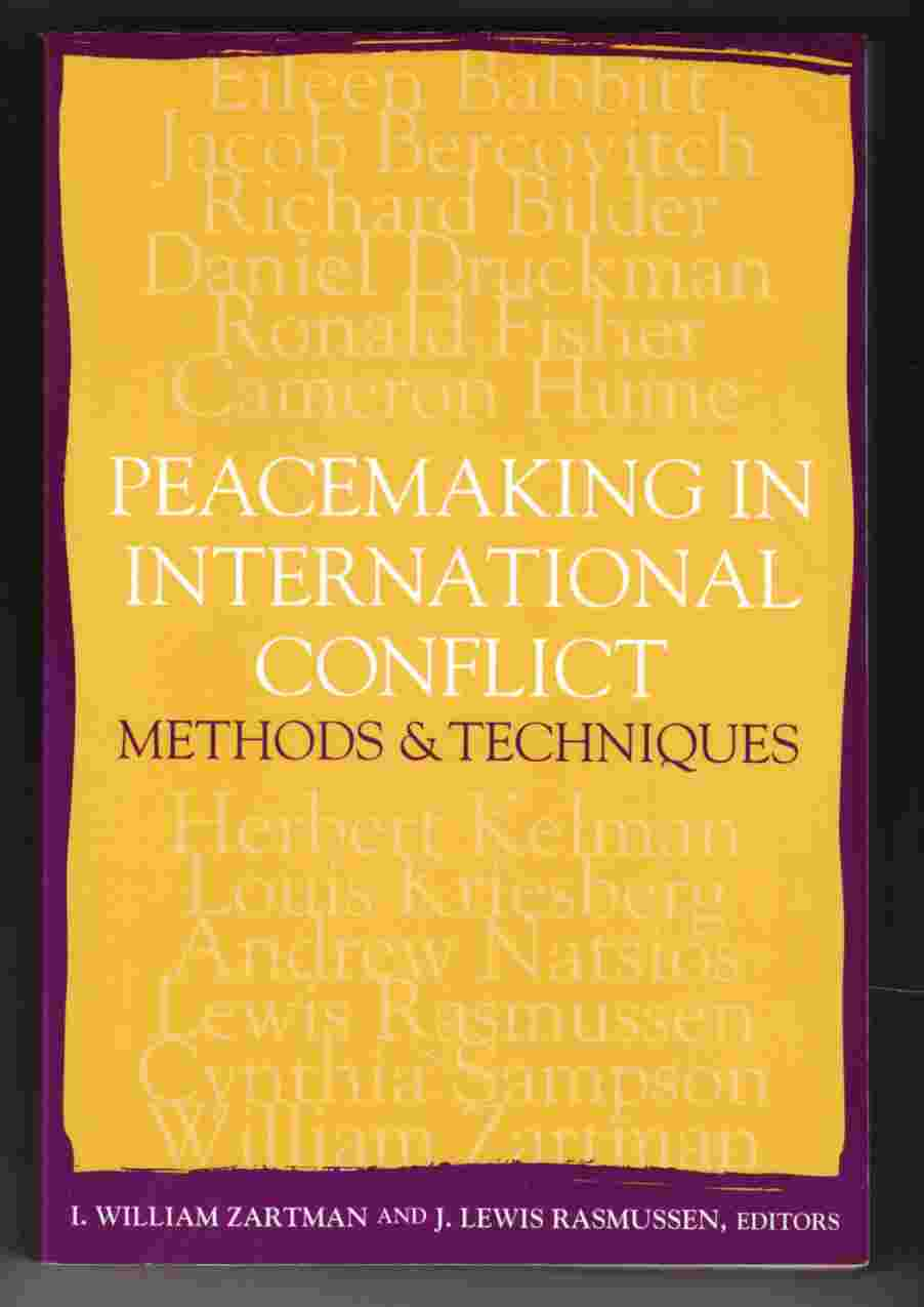 Image for Peacemaking in International Conflict Methods & Techniques