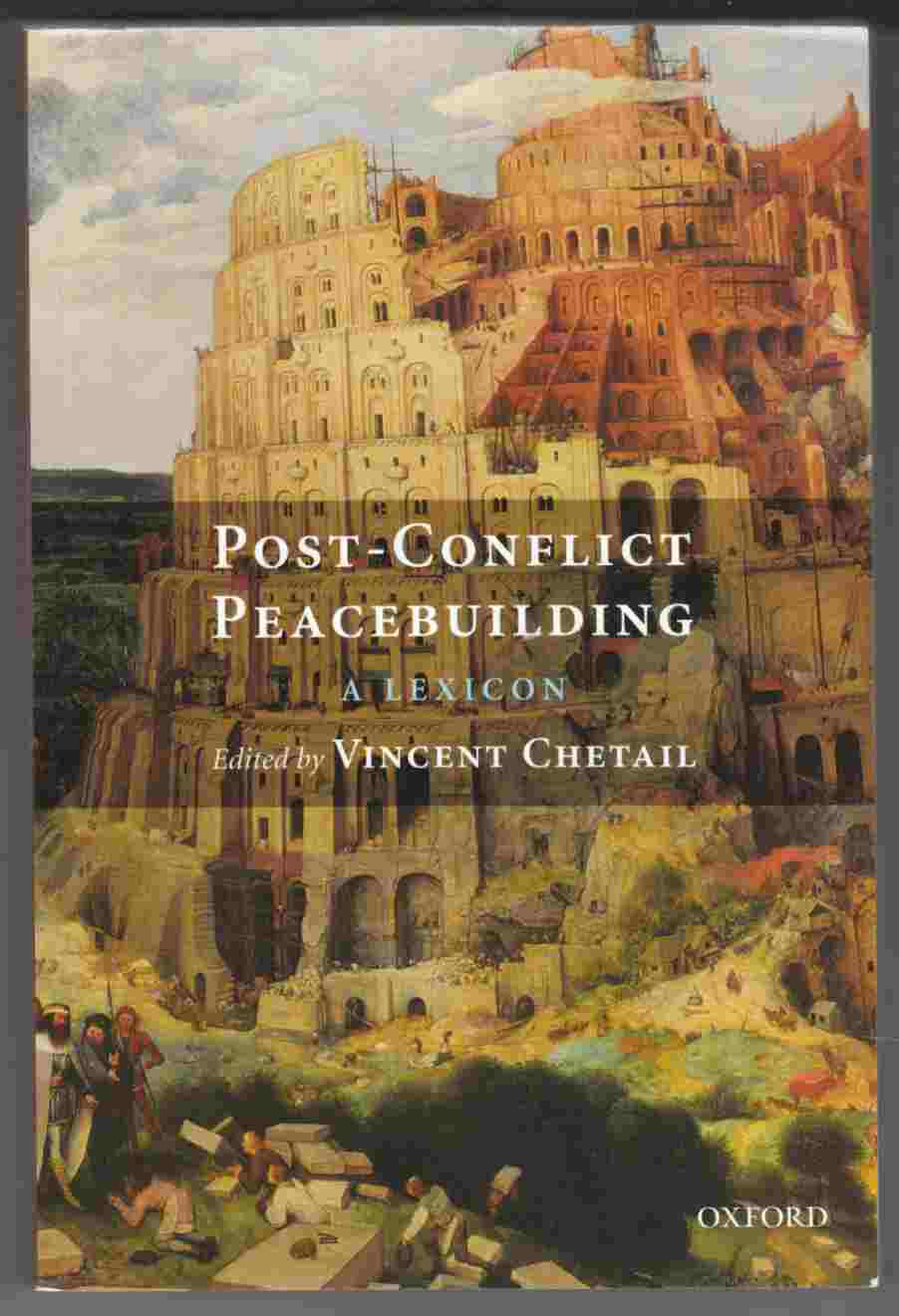 Image for Post-Conflict Peacebuilding:  A Lexicon