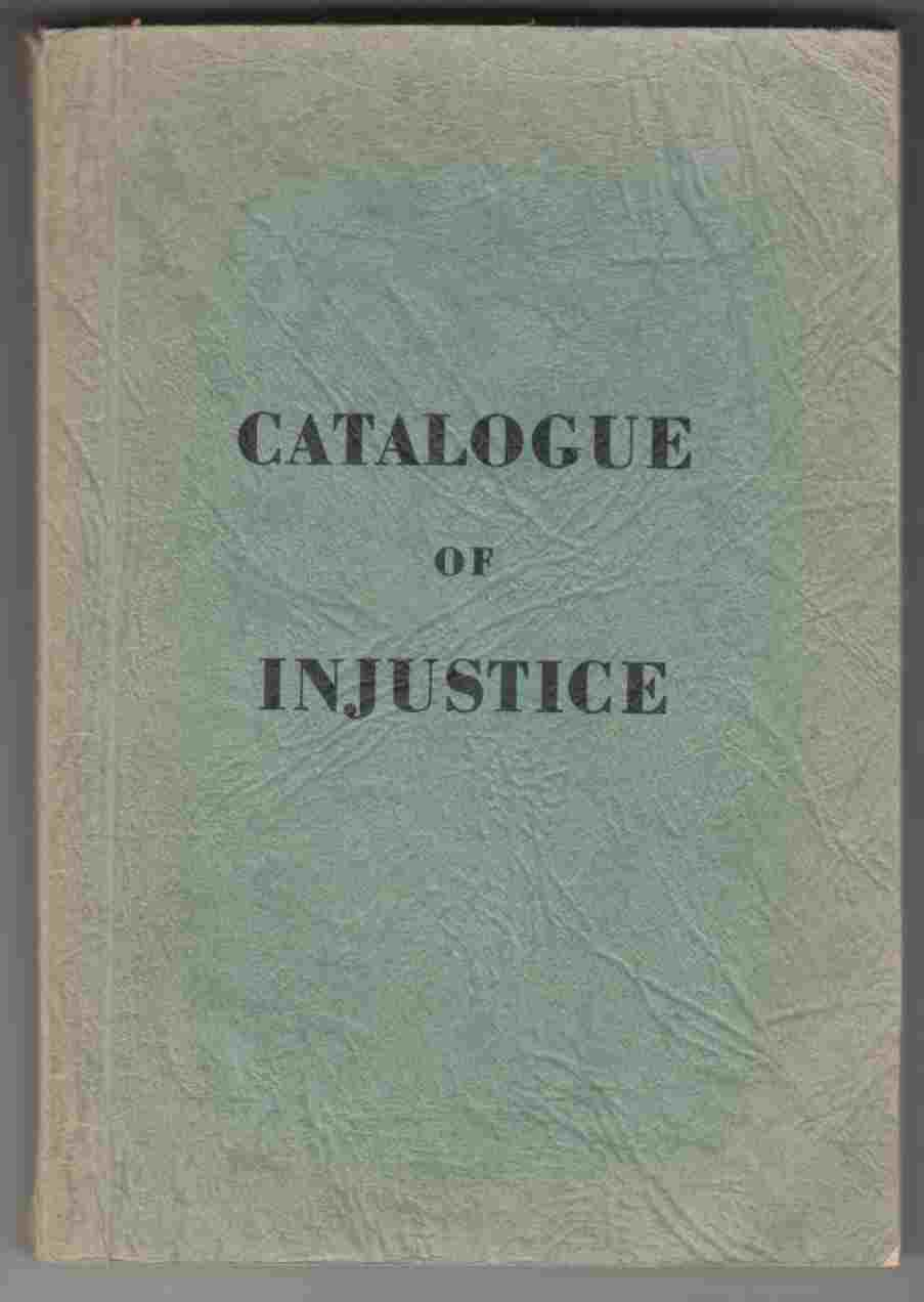Image for Catalogue of Injustice
