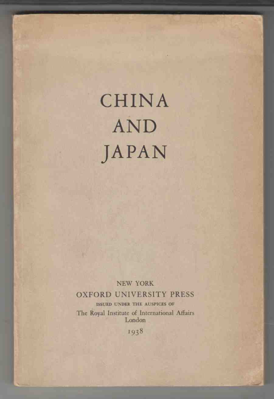 Image for China and Japan Information Department Papers, No. 21