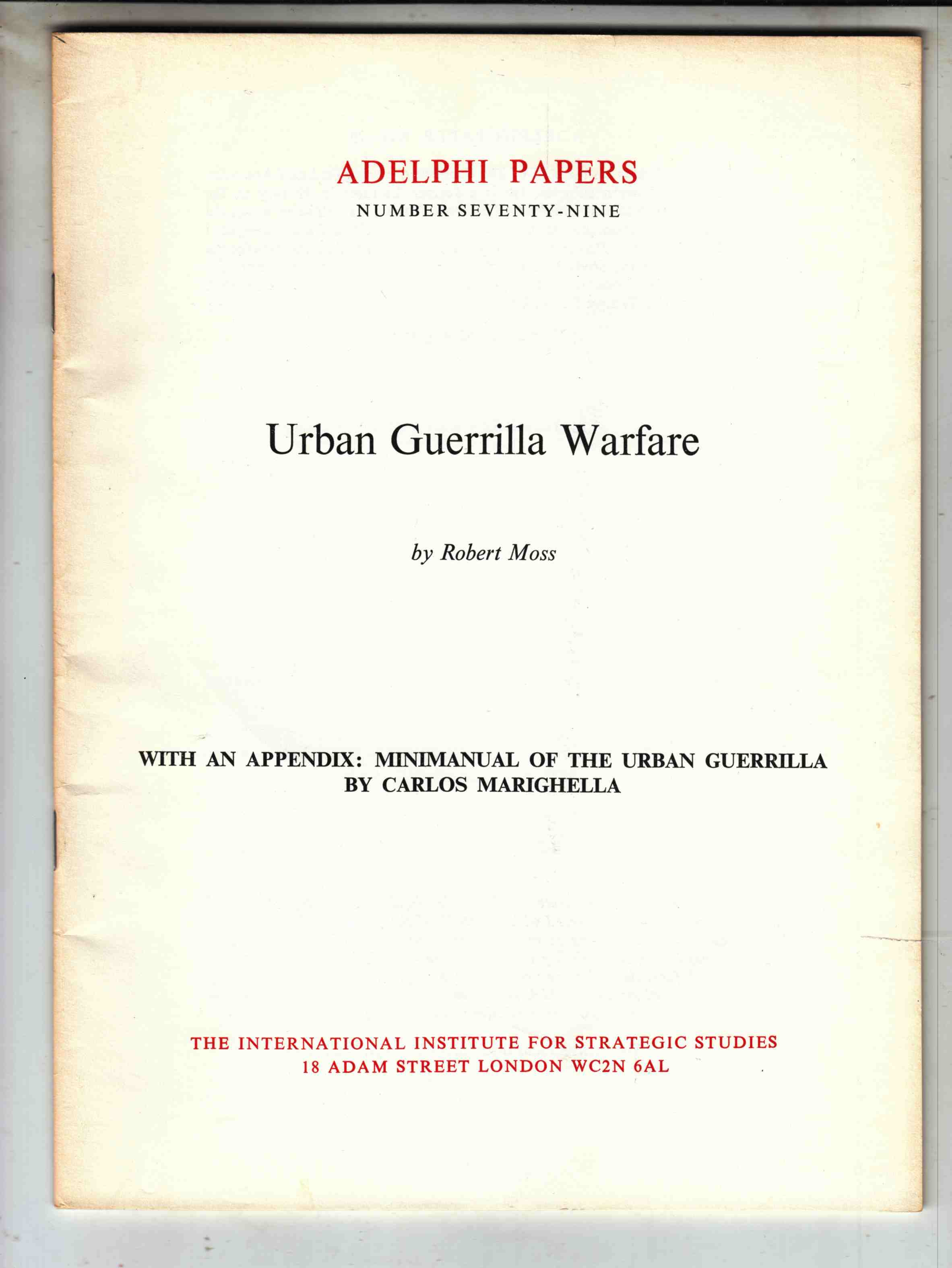 Image for Urban Guerrilla Warfare