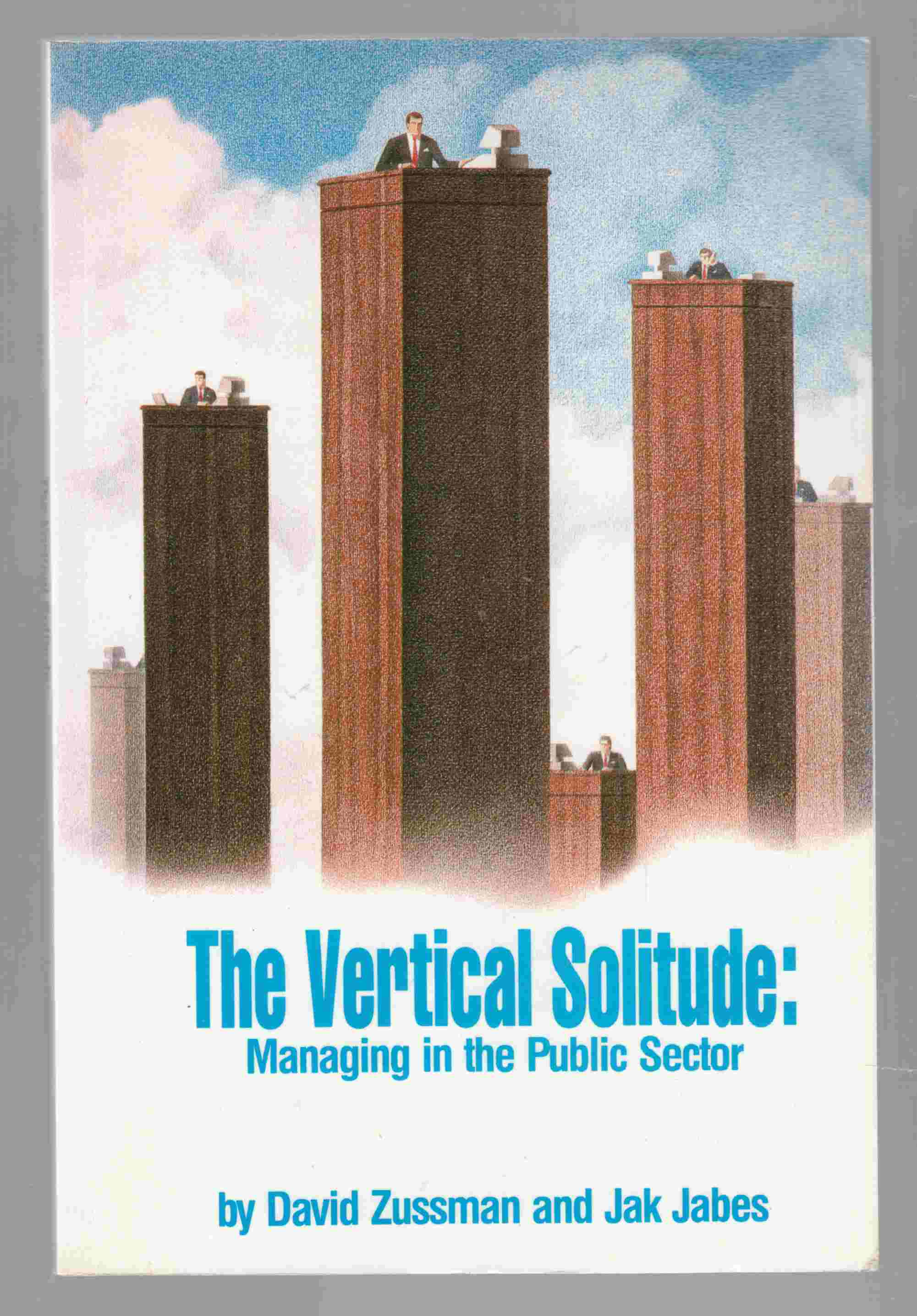Image for The Vertical Solitude: Managing in the Public Sector