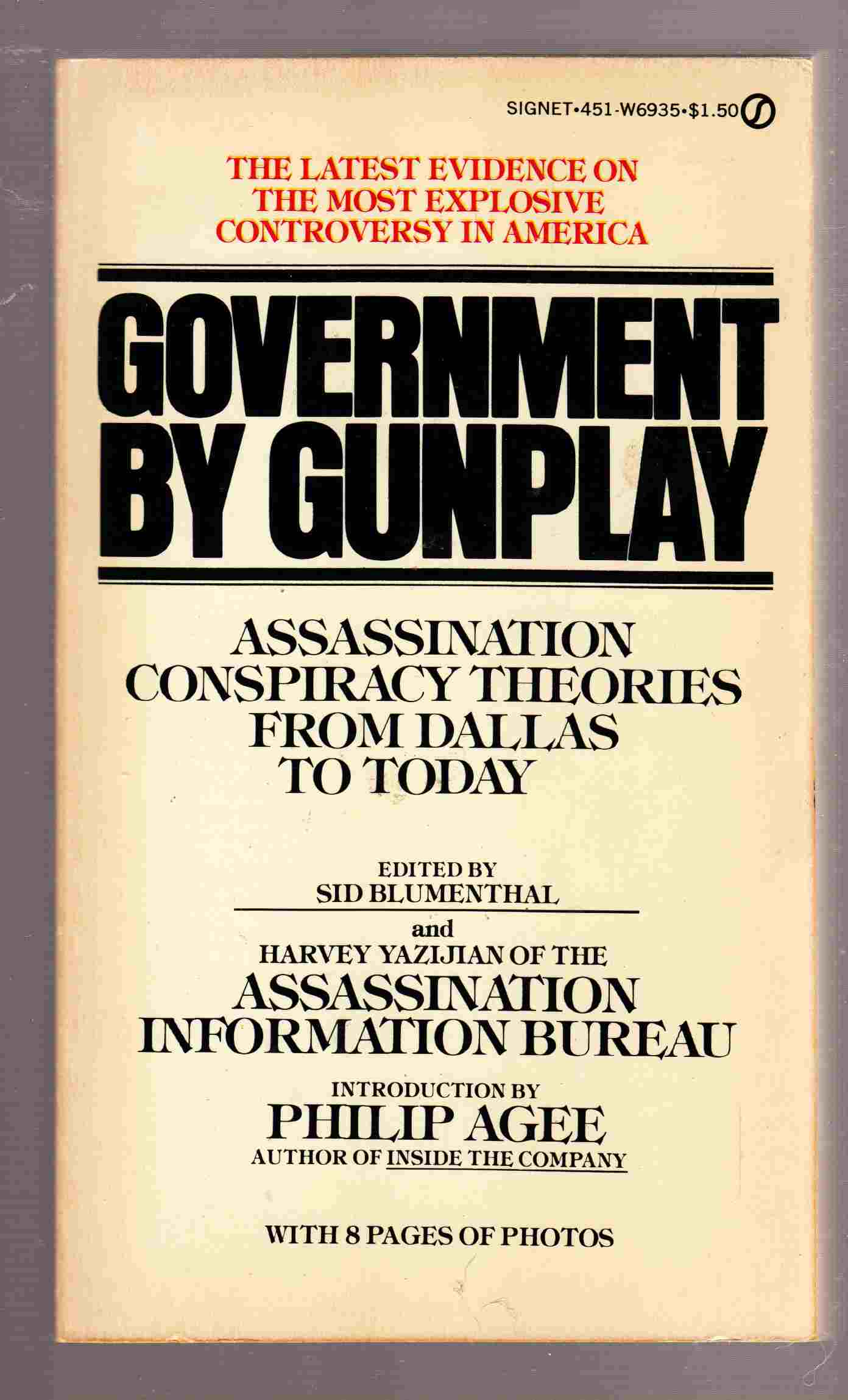 Image for Government by Gunplay Assassination Conspiracy Theories from Dallas to Today