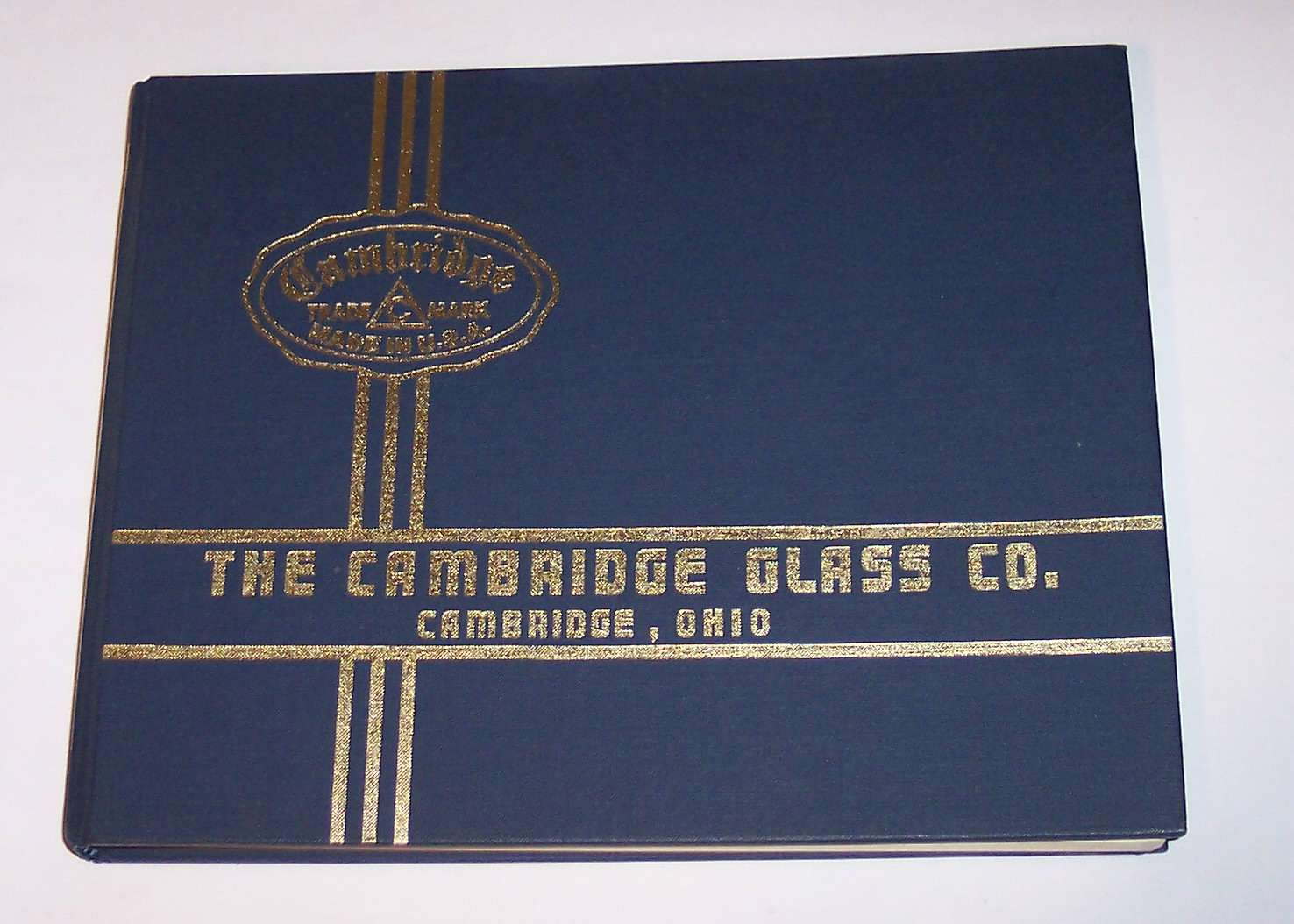 Image for The Cambridge Glass Co. Catalog 1930 Thru 1934
