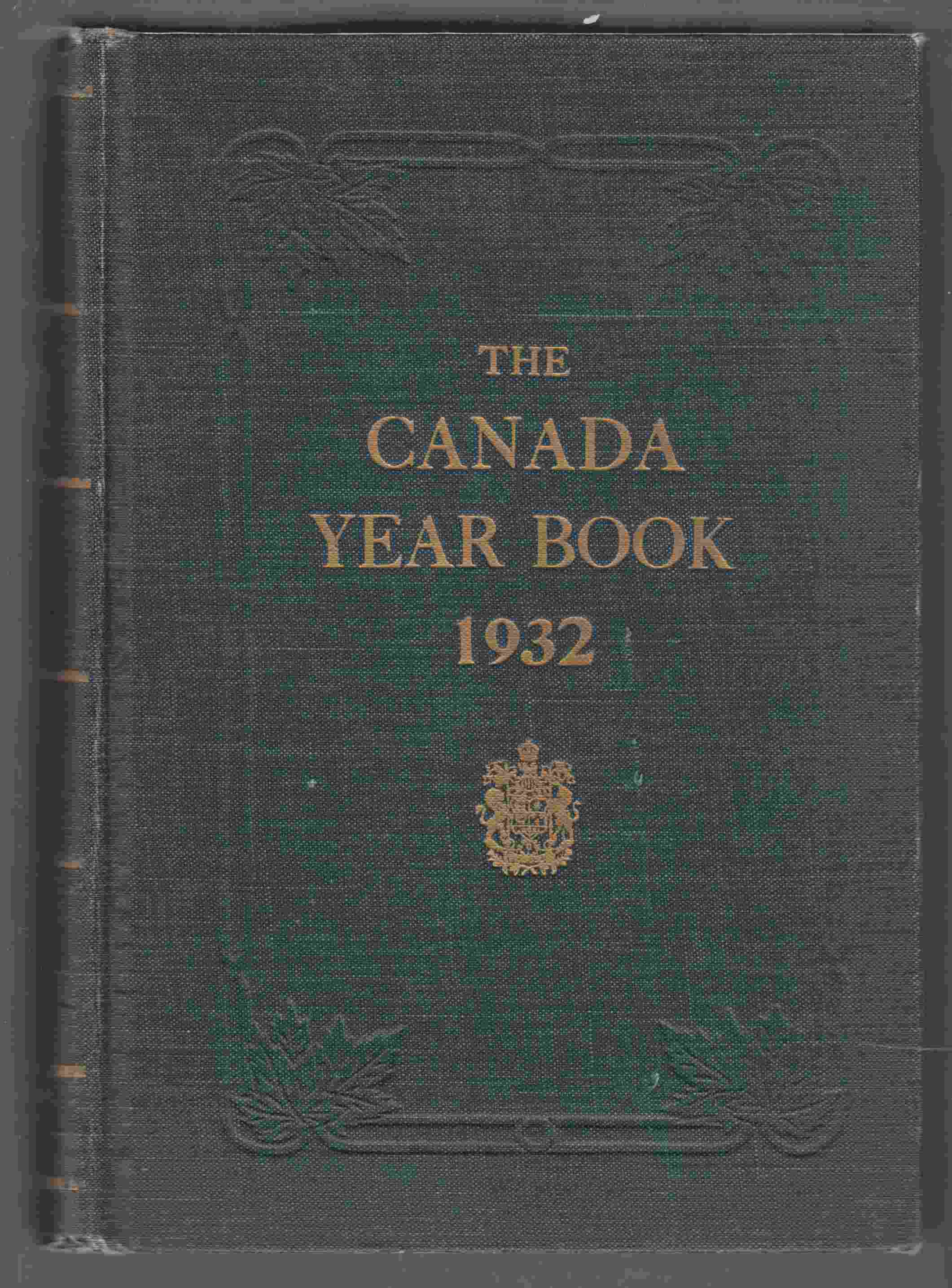 Image for The Canada Year Book 1932