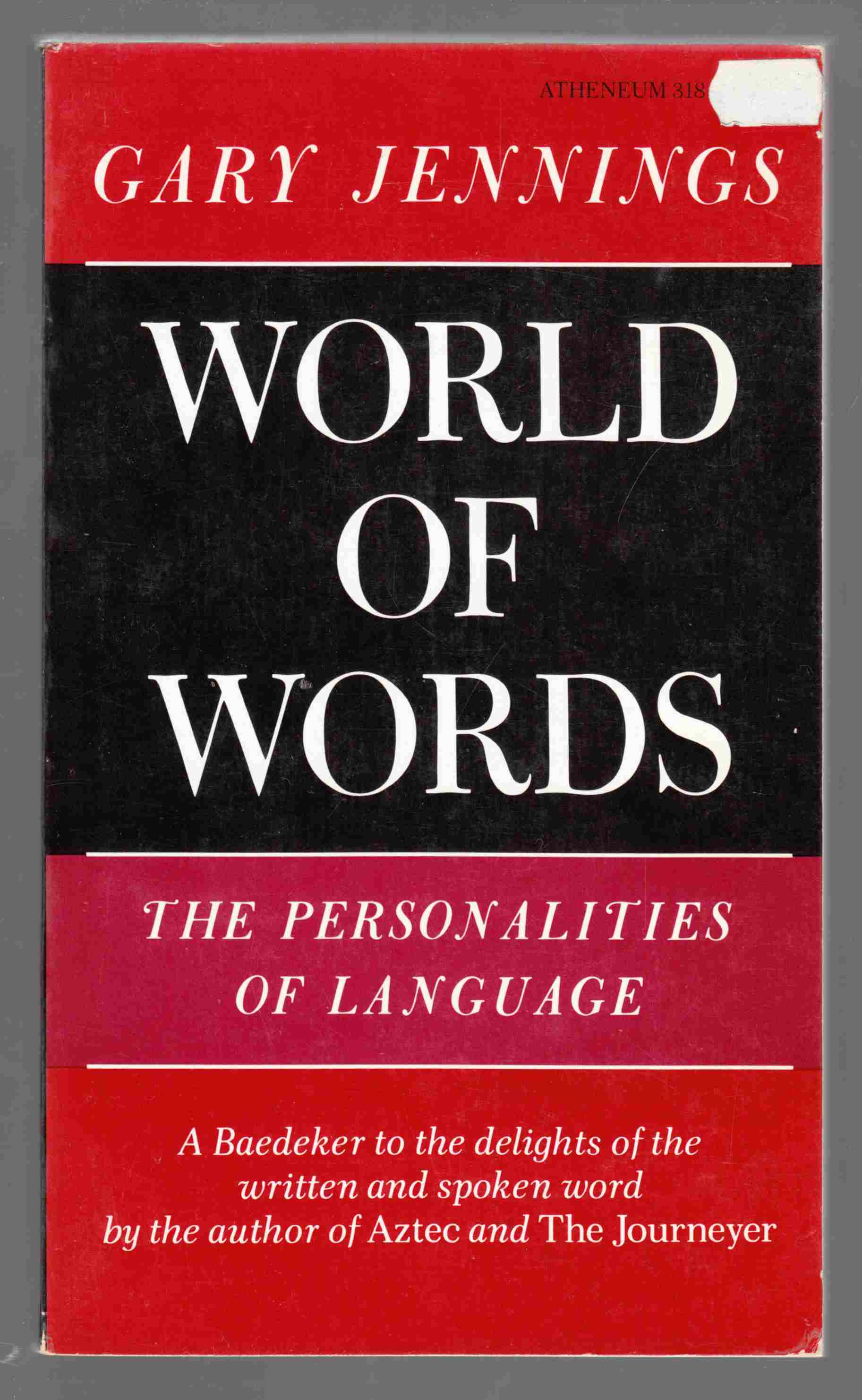 Image for World of Words The Personalities of Language