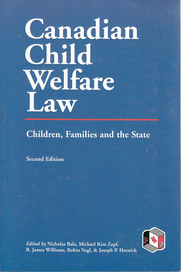 Image for Canadian Child Welfare Law Children, Families and the State