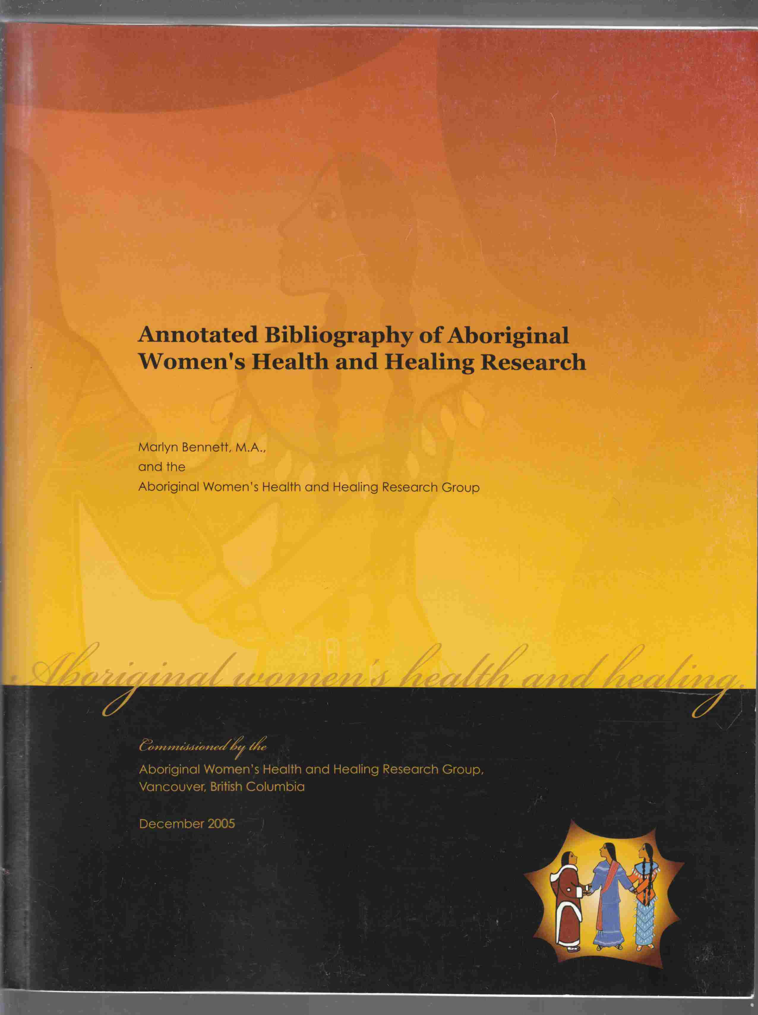 Image for Annotated Bibliography of Aboriginal Women's Health and Healing Research