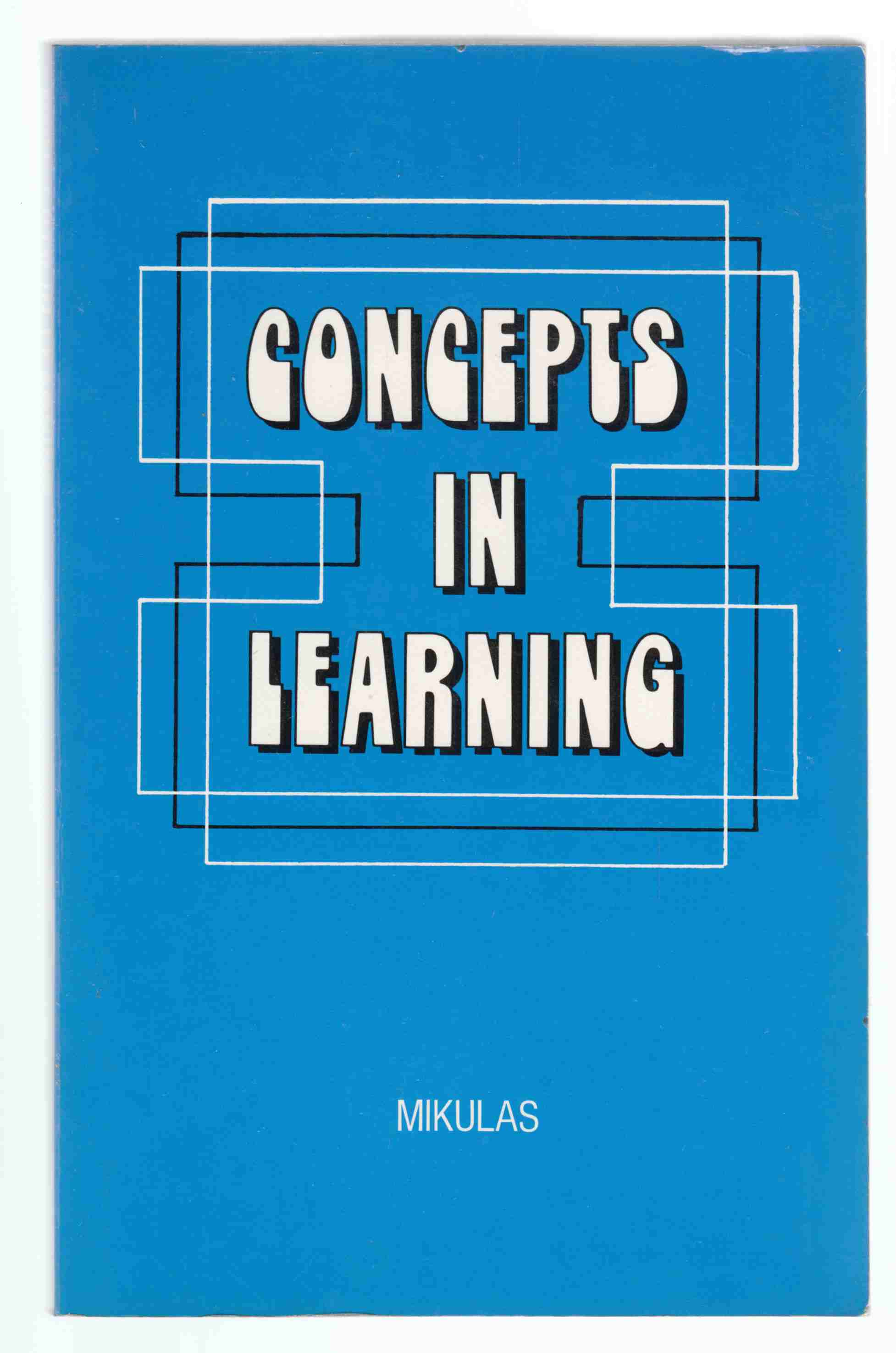 Image for Concepts in Learning