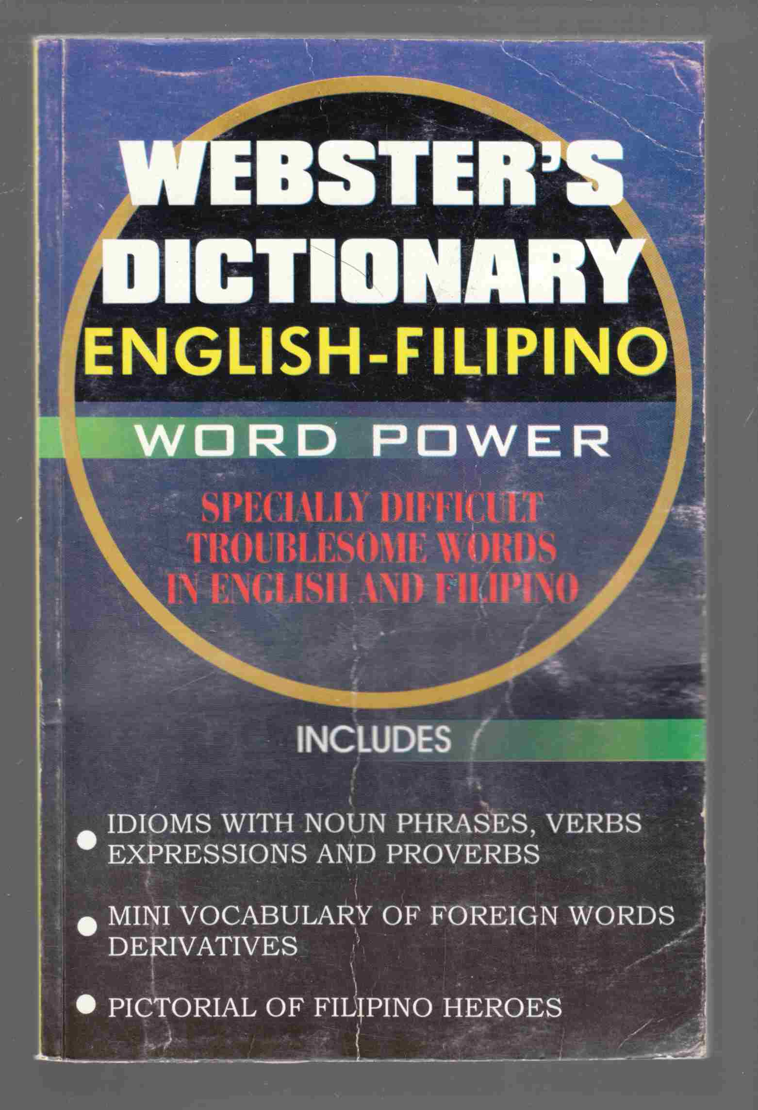 Image for Webster's Dictionary English-Filipino