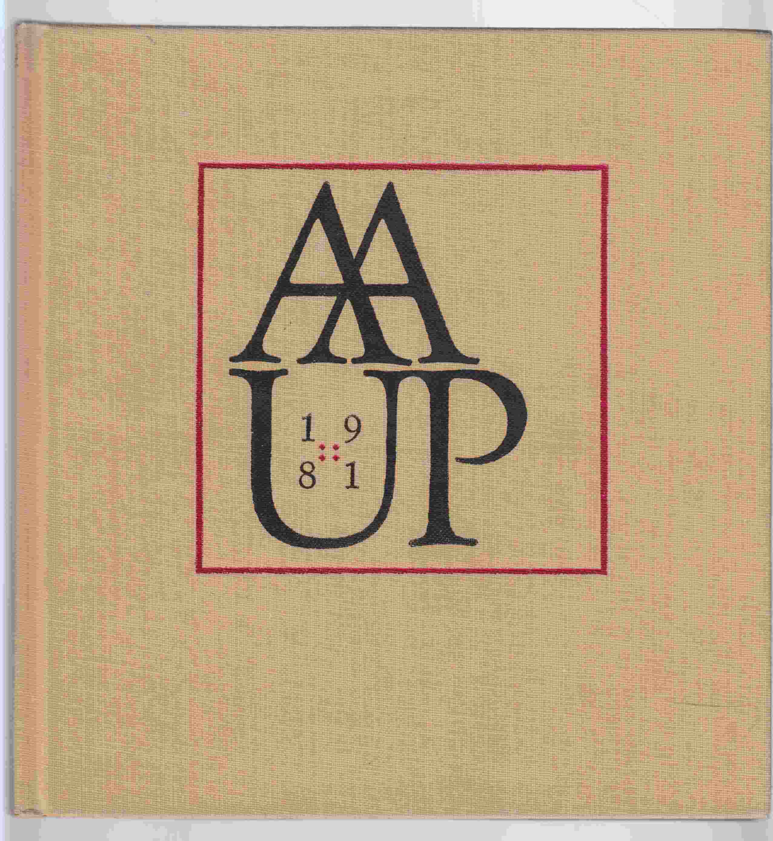 Image for AAUP 1981 Book Show