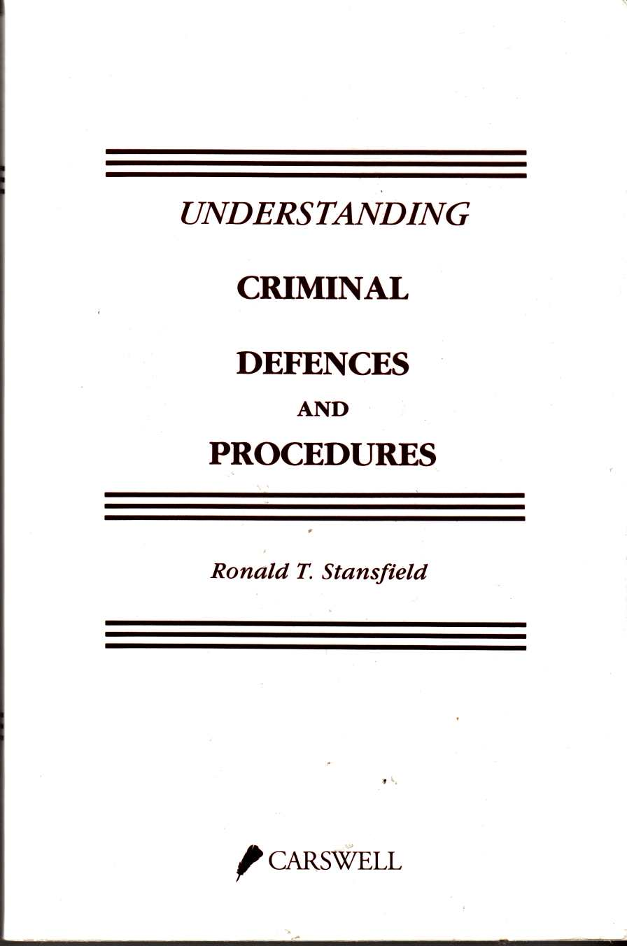 Image for Understanding Criminal Defences and Procedures