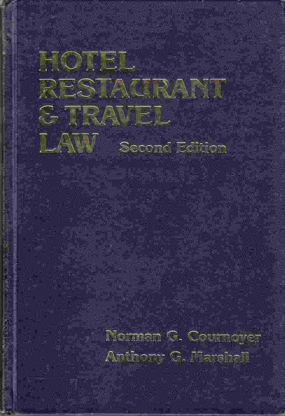 Image for Hotel Restaurant & Travel Law Second Edition