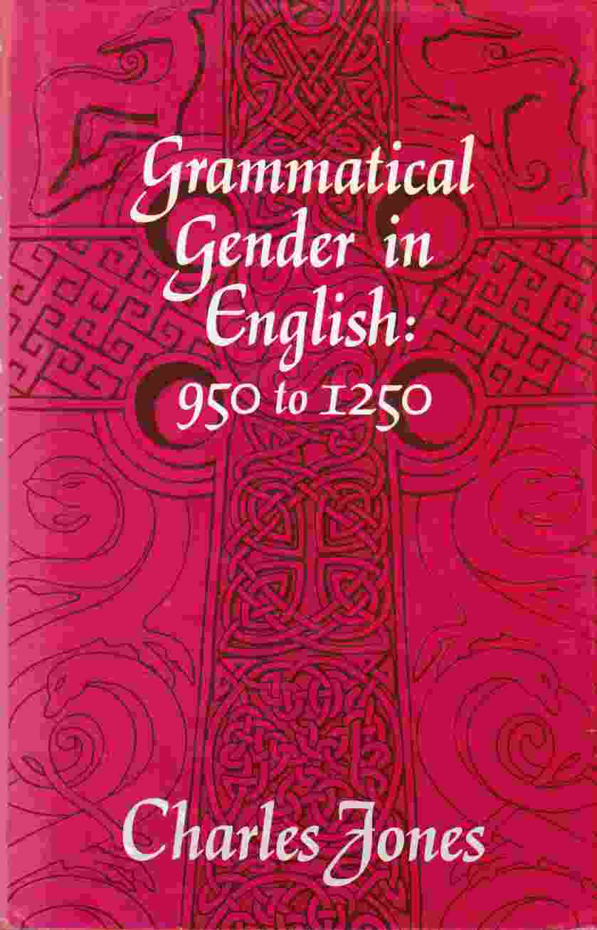 Image for Grammatical Gender in English: 950 to 1250