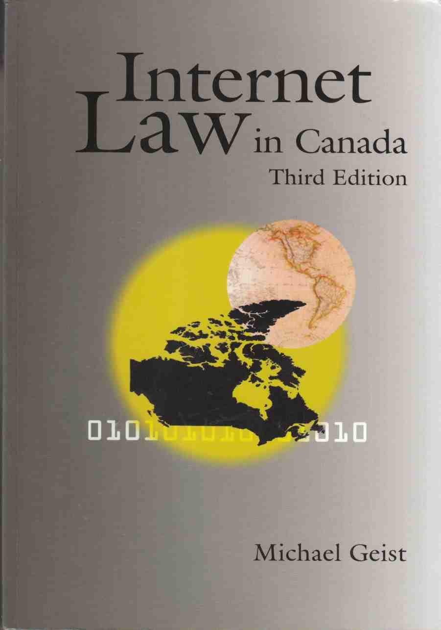 Image for Internet Law in Canada Third Edition