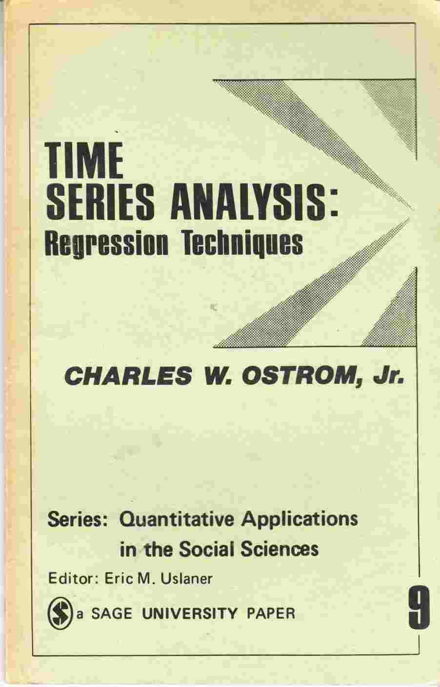 Image for Time Series Analysis: Regression Techniques