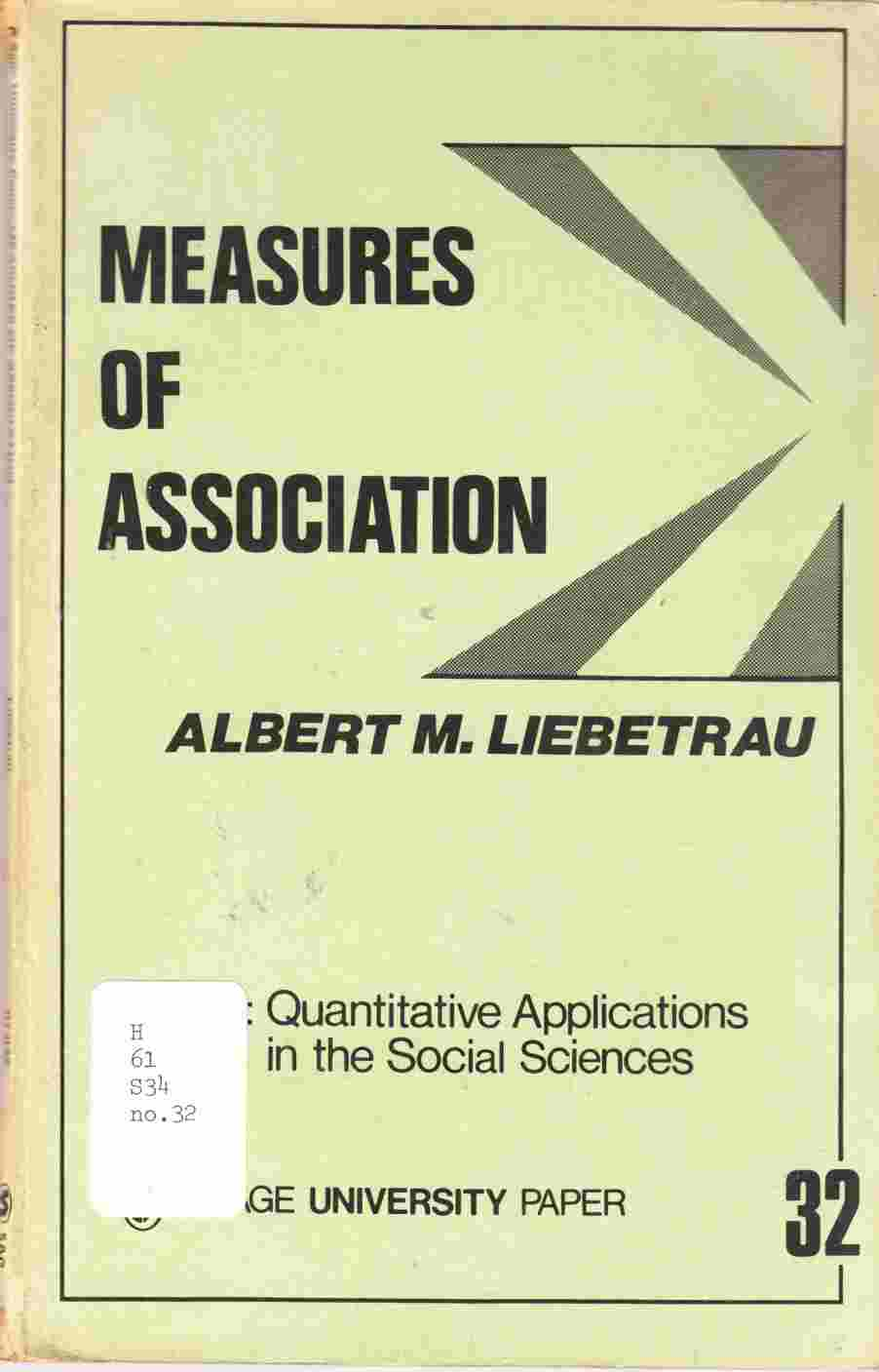 Image for Measures of Association