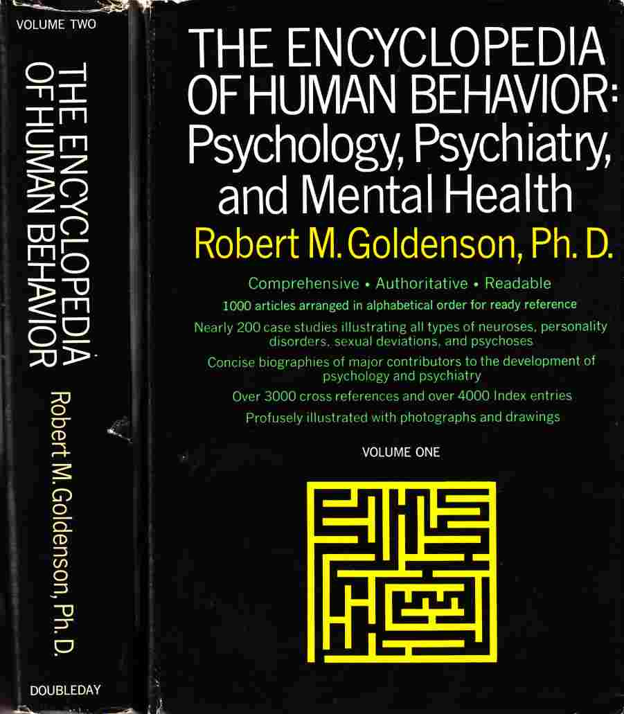 Image for The Encyclopedia of Human Behaviour:  Psychology, Psychiatry, and Mental Health (2 Vols. )