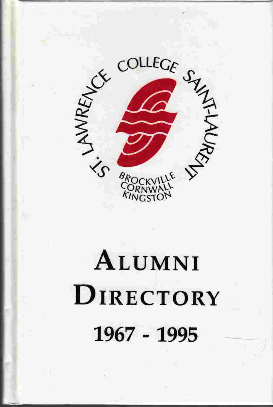 Image for St. Lawrence College Saint-Laurent Alumni Directory 1967 - 1995