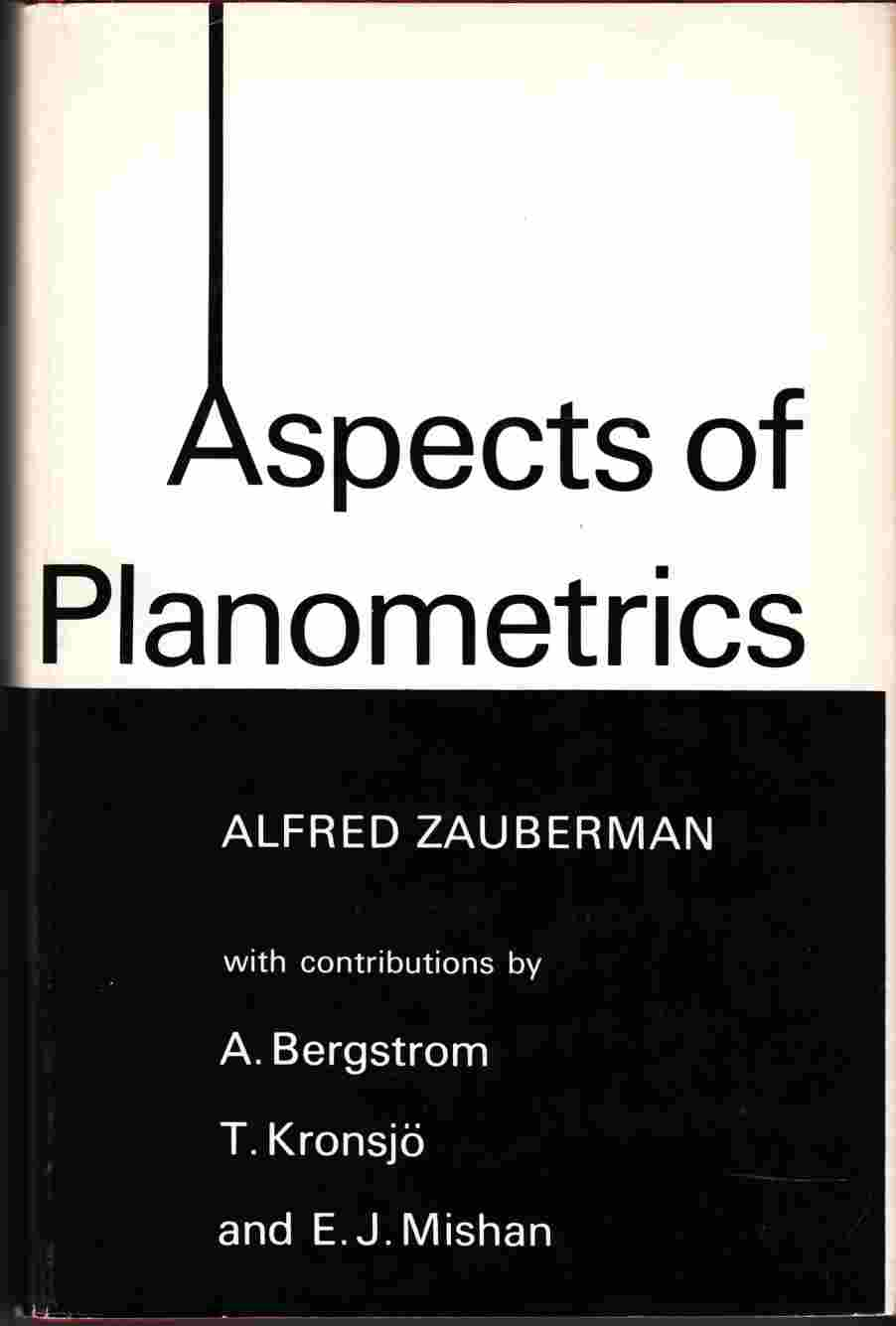 Image for Aspects of Planometrics