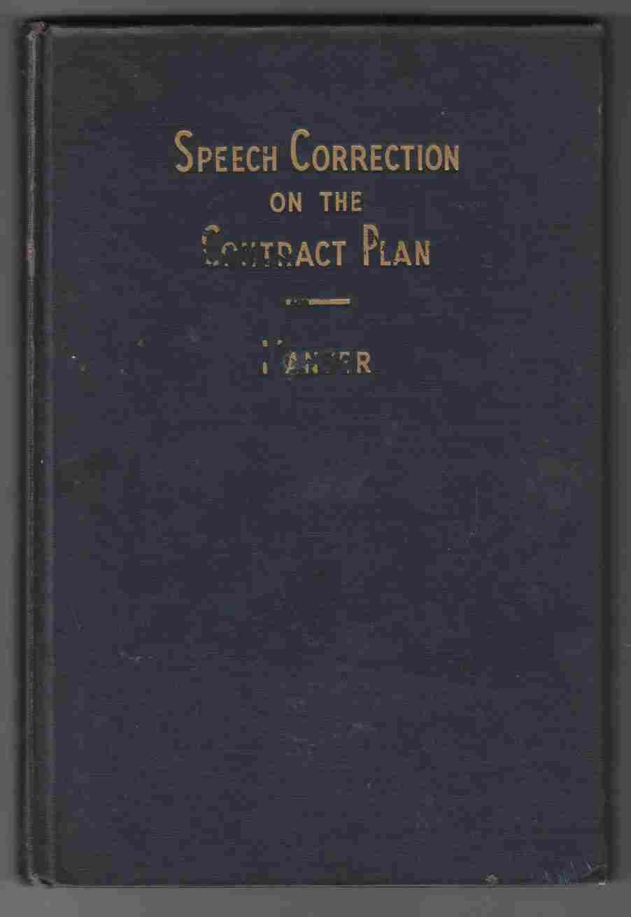 Image for Speech Correction on the Contract Plan