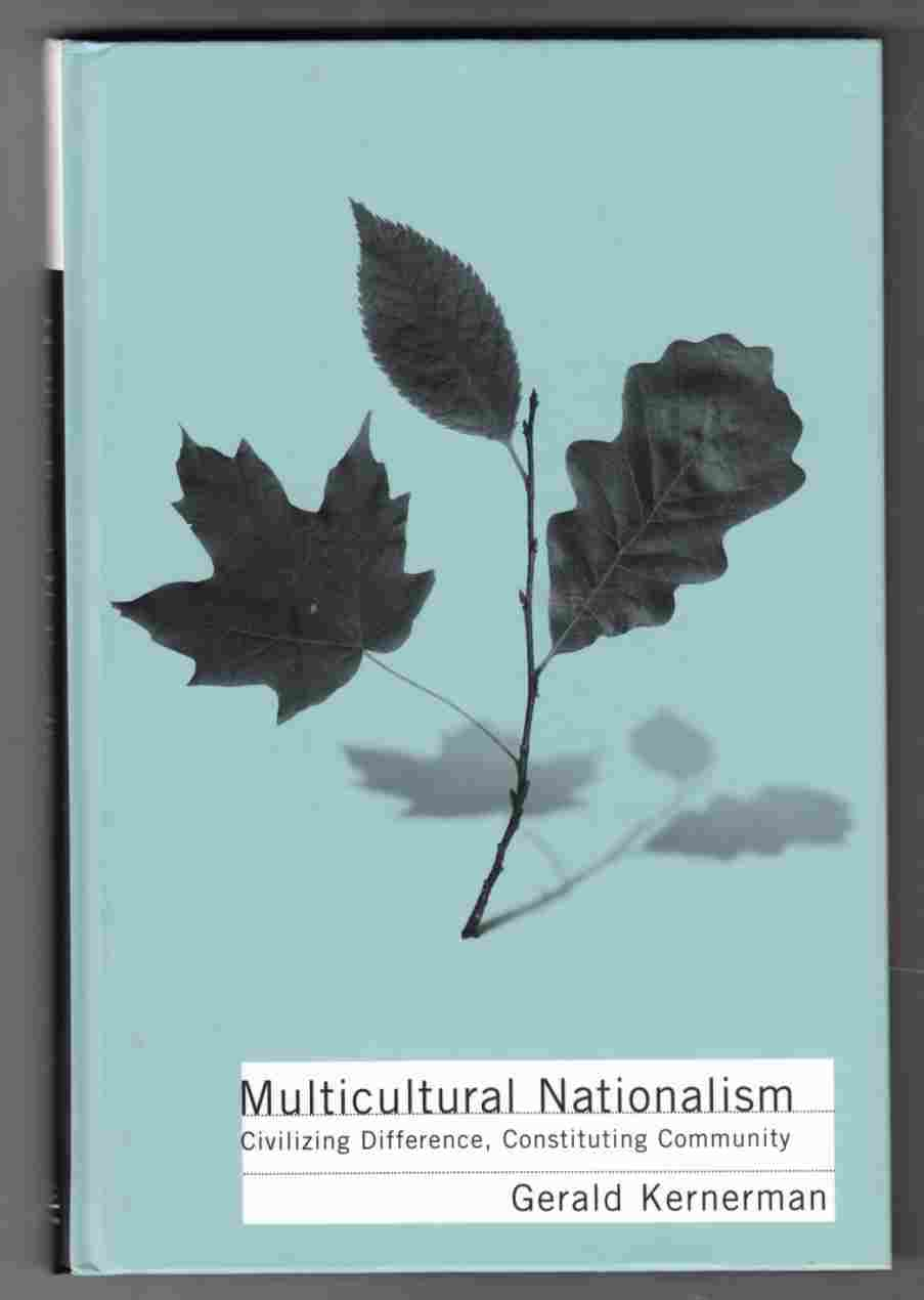 Image for Multicultural Nationalism Civilizing Difference, Constituting Community