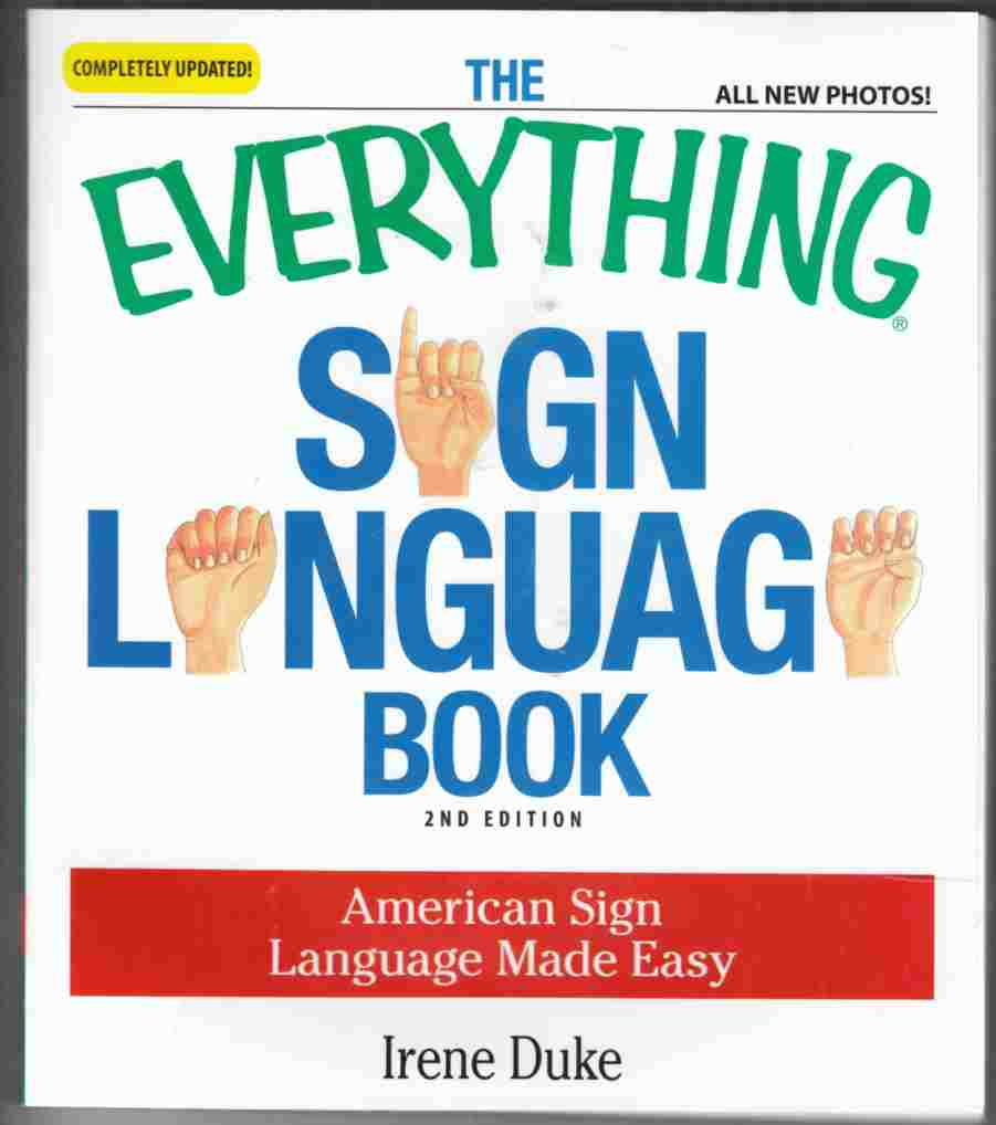 Image for The Everything Sign Language Book Second Edition