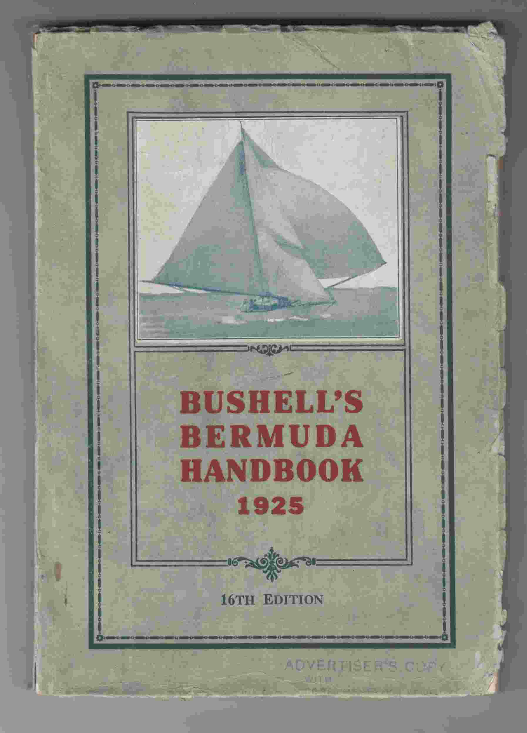 Image for Bushell's Bermuda Handbook 1925 16th Edition