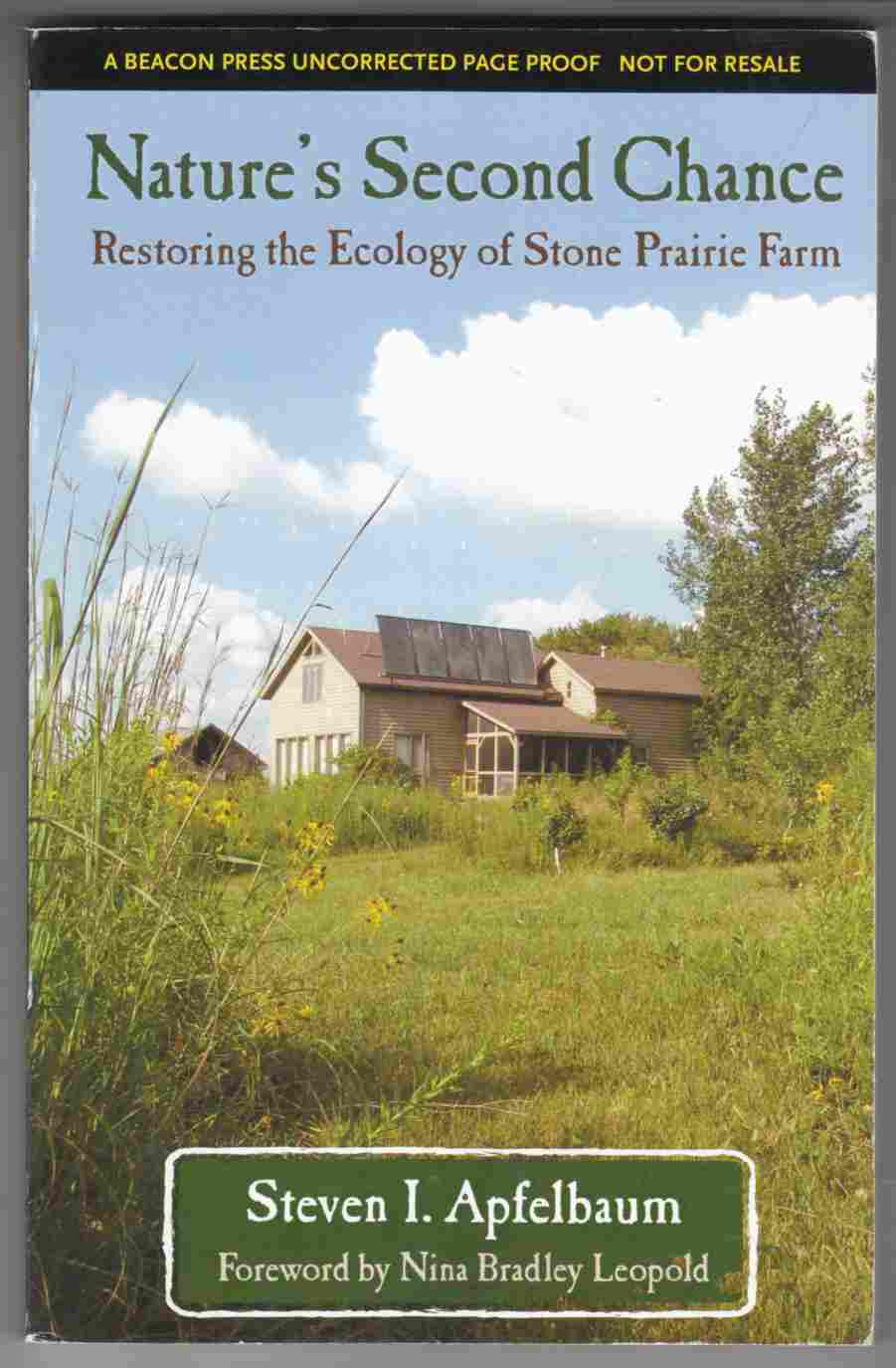Image for Nature's Second Chance Restoring the Ecology of Stone Prairie Farm